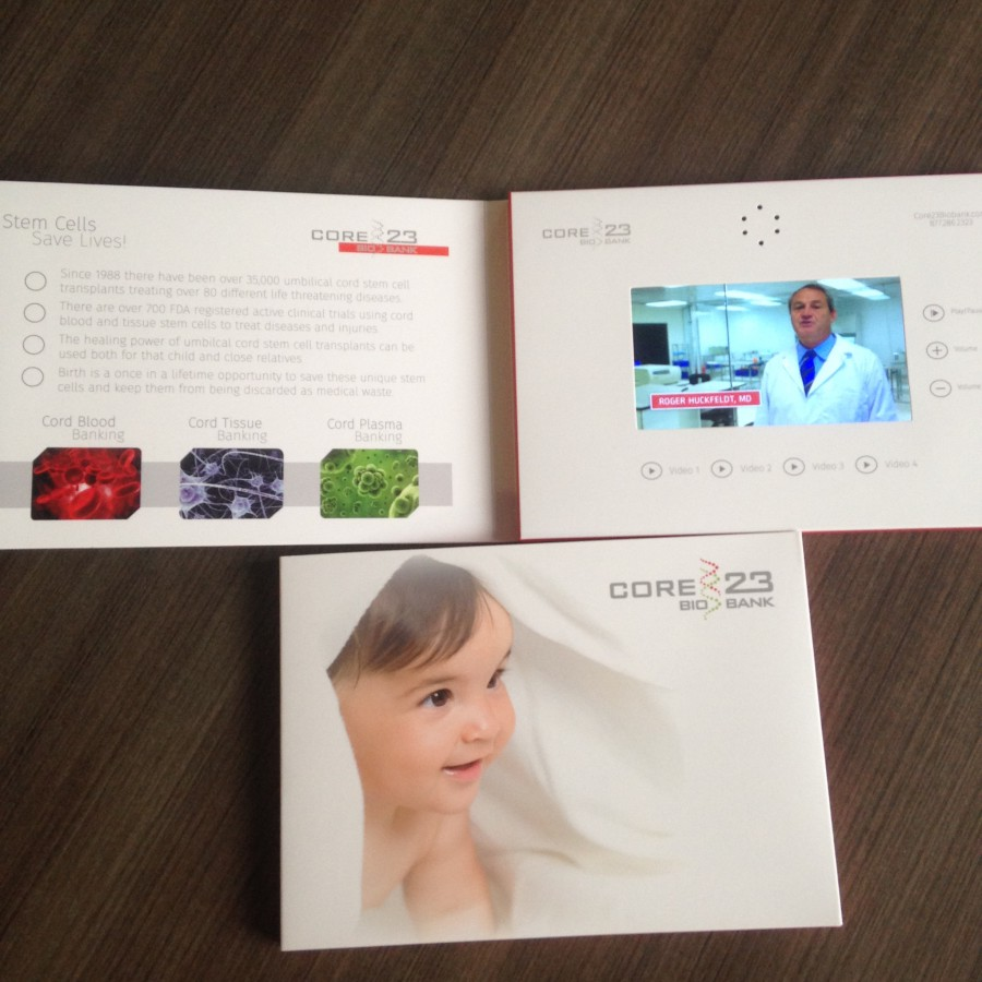 cord blood video brochure